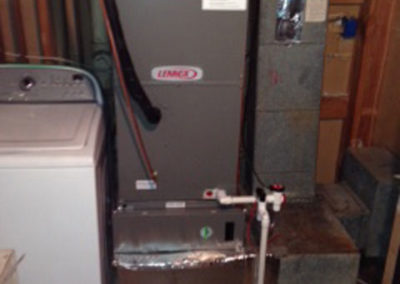 New Lennox Air Handler with Merv 16 Air Cleaner
