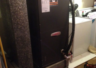 New Lennox Air Handler with replaced return box